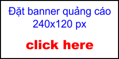 Mẫu banner quảng cáo